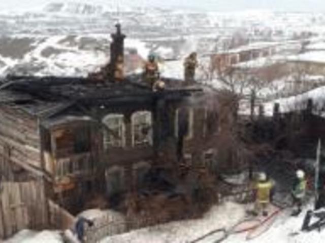 В Челябинской области на пожаре погиб мужчина