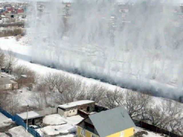 В южноуральском поселке прогремели мощные взрывы