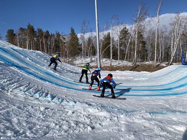 В Челябинской области завершился финал Кубка России по сноуборду