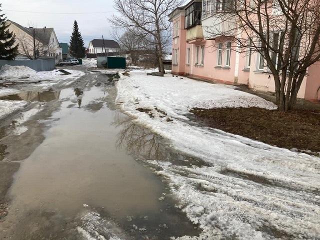 Жители п. Первомайский бьют тревогу из-за дорог