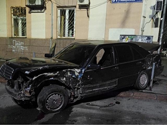 На Южном Урале в ночном ДТП пострадала женщина