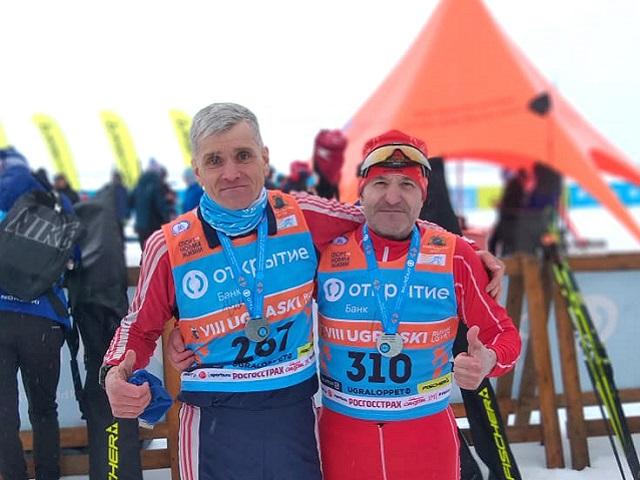 Сотрудник автозавода «Урал» покорял марафонскую трассу Югры