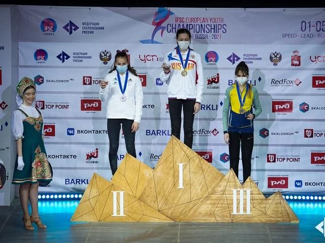 Скалолазка из Магнитогорска победила на Первенстве Европы