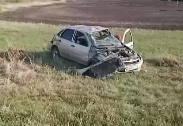 На Южном Урале пассажир LADA погиб в ДТП с иномаркой