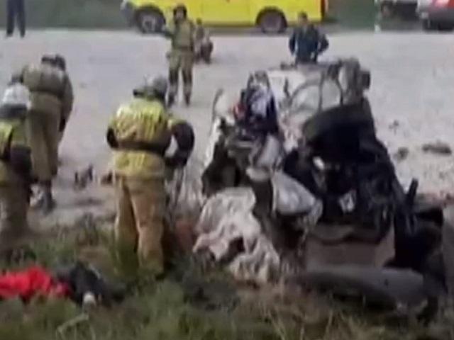 На Южном Урале в ДТП с фурой погибли два человека