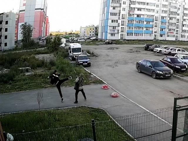 В Челябинской области задержан мужчина, избивший пенсионера на улице
