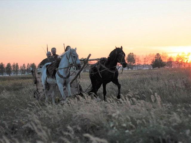 На Аркаиме пройдет первый колесничный пробег
