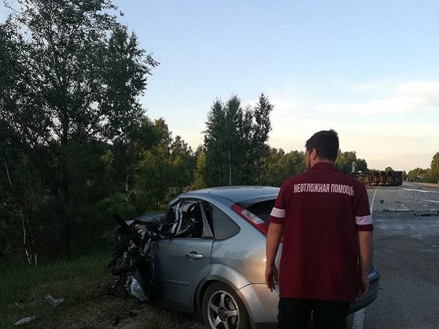 Уснул за рулем: на трассе в Челябинской области произошло смертельное ДТП