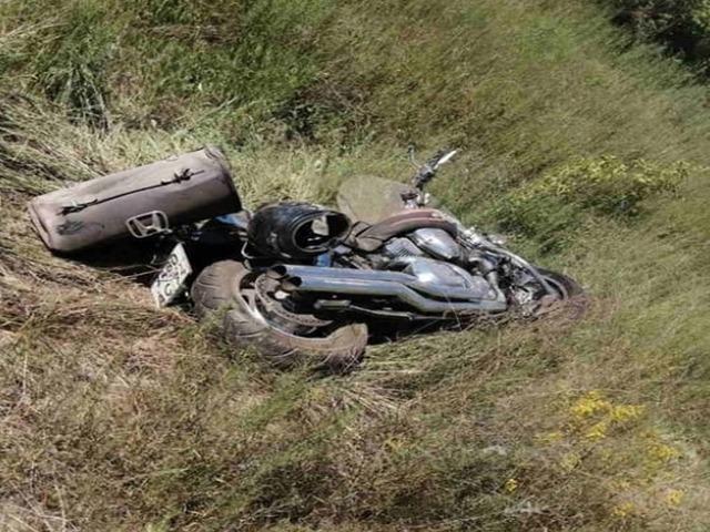 В Челябинской области разбился насмерть мотоциклист