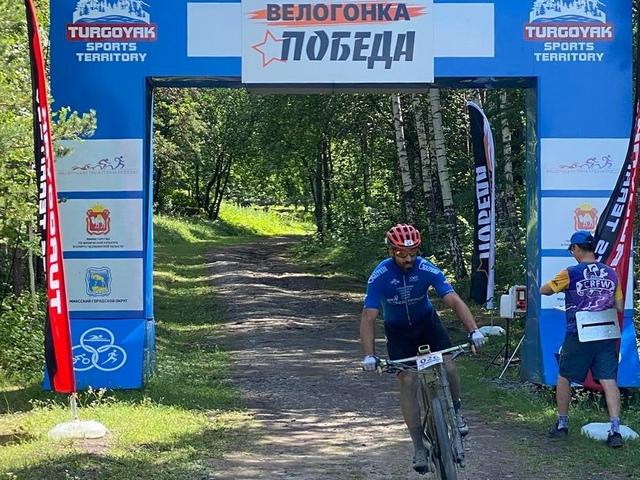 В Миассе прошла велогонка «Победа»