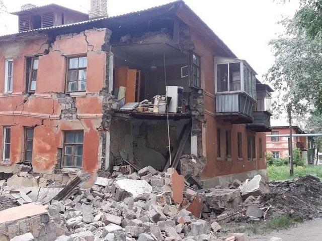Названы суммы выплат жильцам развалившегося дома в Ленинском районе Челябинска