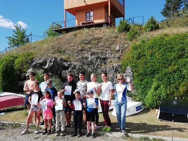 На Тургояке прошли соревнования по парусному спорту