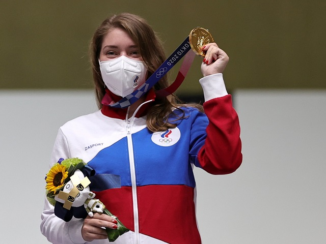 В копилке российской сборной появилось первое золото на Олимпиаде