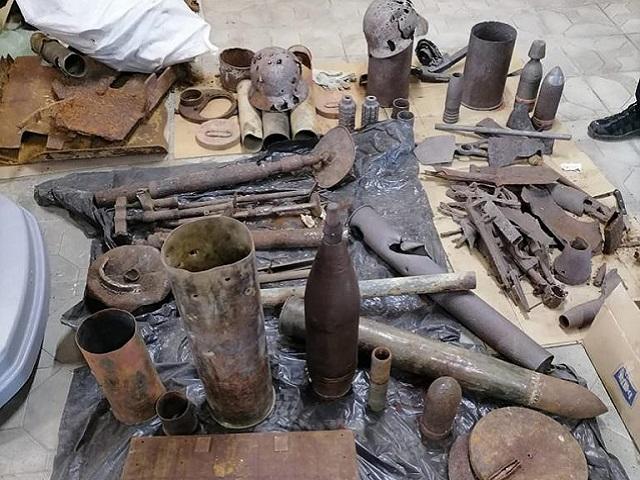 В Челябинской области вдова обнаружила дома опасные боеприпасы