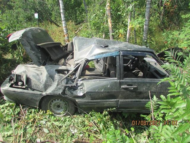 На Южном Урале водитель-бесправник погиб в ДТП