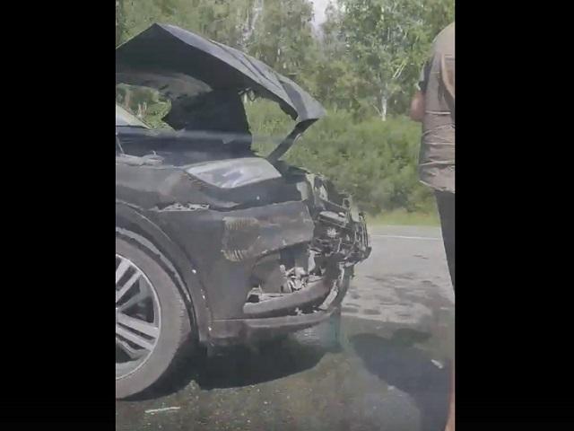 В тройном ДТП под Миассом пострадал водитель иномарки