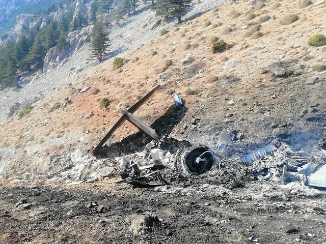 В Турции разбился российский пожарный самолёт