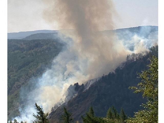 Под Магнитогорском эвакуирован лагерь «Горное ущелье» из-за лесного пожара
