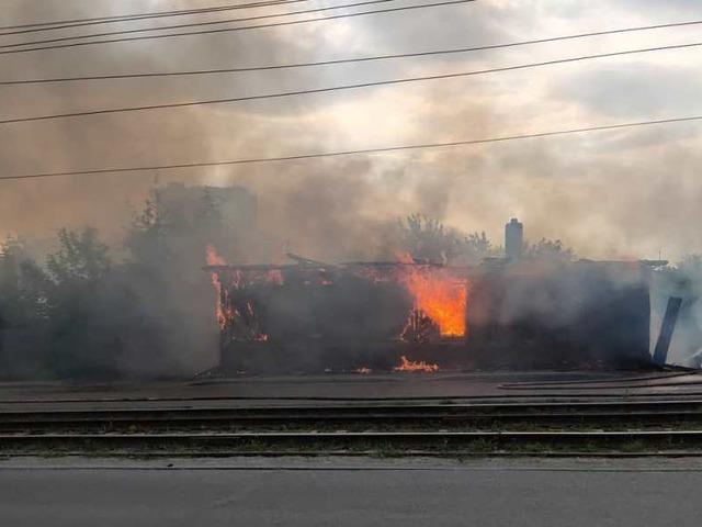 На Южном Урале на пожаре погиб человек