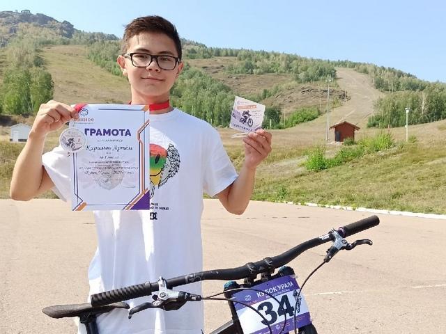 Миасский велоспортсмен победил на кубке Урала