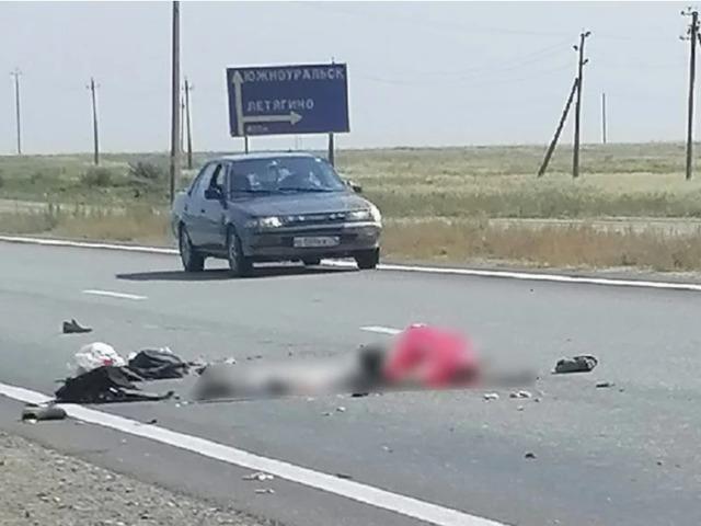 На Южном Урале грузовик насмерть сбил мужчину