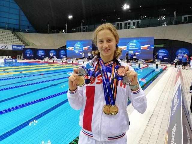 Челябинская пловчиха Валерия Шабалина стала серебряным призером Паралимпиады в Токио