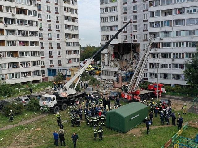 В Ногинске в результате взрыва газа в жилом доме погибли семь человек