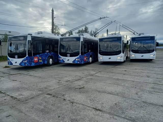 В Миасс прибыли четыре новых троллейбуса