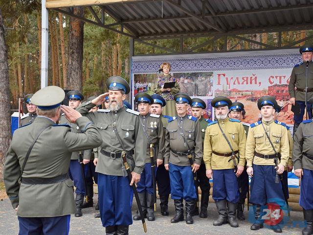 В Южноуральске прошел казачий праздник «Гуляй, станица!»