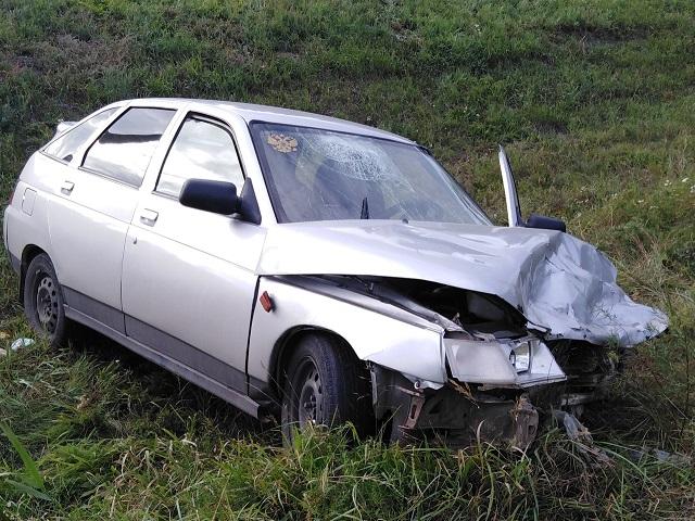 Есть пострадавшие: в Челябинской области столкнулись две «двенадцатые»