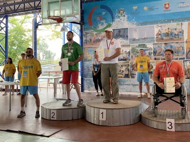 Миасский спортсмен завоевал золотую медаль на всероссийском спортивном фестивале