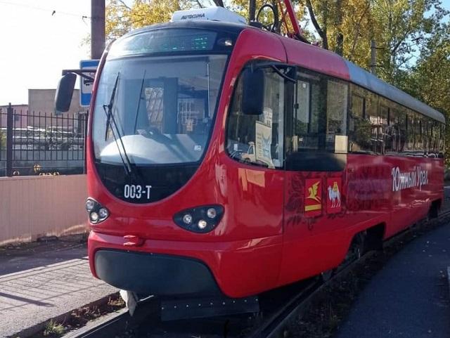 В Златоусте вышли на линию новые трамваи