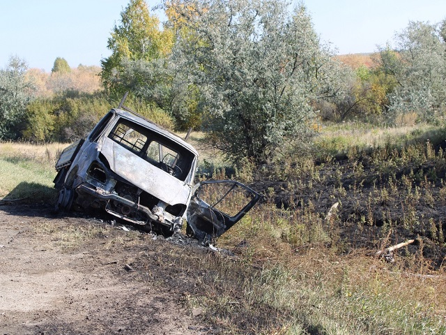 Автомобиль сгорел: на Южном Урале в ДТП пострадал водитель ГАЗели