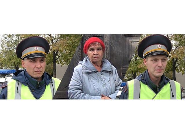 В Челябинской области полицейские спасли женщину из пожара