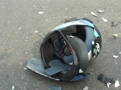 В Челябинске мотоциклист на Хонде протаранил четыре автомобиля