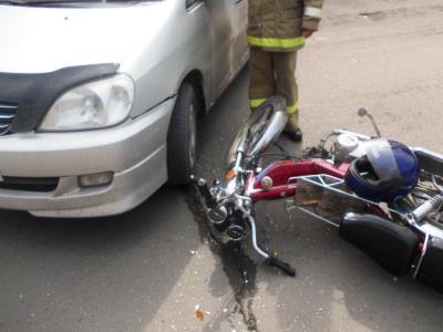 В Челябинске погиб мотоциклист