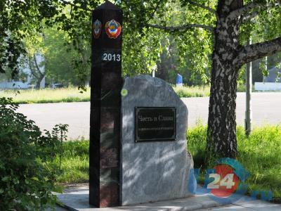 Памятник миасским пограничникам снова как новенький, но теперь антивандальный