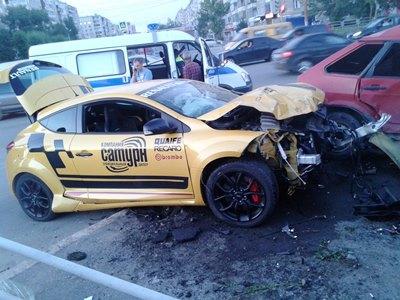 На одном перекрестке в Челябинске за 10 часов произошло два ДТП