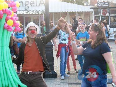 800 метров музыки и танцев: в Челябинске организовали самую длинную дискотеку