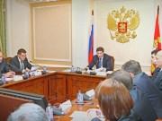 Губернатор поручил усилить контроль за предприятиями ЖКХ