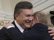 Неформальная встреча Путина и Януковича