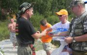 Саткинские рыбаки посоревновались в сноровке