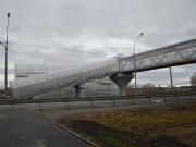 В Южноуральске появился наземный пешеходный мост