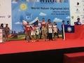 Команда робототехников победила на Мировой олимпиаде в Индонезии