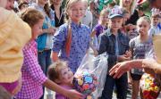 Сегодня в Миассе состоялось праздничное представление для детей и их родителей