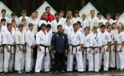 На берегу озера Тургояк прошли учебно-тренировочные сборы каратистов