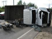 Три ДТП с грузовиками