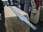 В Златоусте выковали самый длинный в мире клинок