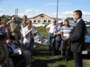 Из-за дыма жители села Шабурово опасаются за свое здоровье