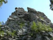 Турист сорвался со скалы
